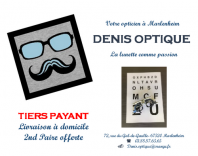 Denis optique opticien marlenheim logo