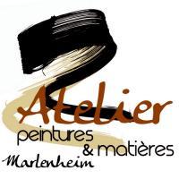 Logo atelier peintures et matieres marlenheim